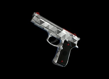 PUBG Trifecta - P92 skin icon
