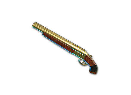 PUBG Gold Plate  - Sawed-Off skin icon