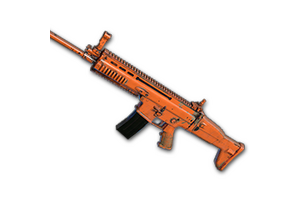 Rugged Orange Scar L
