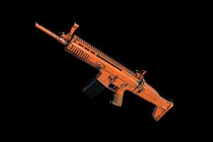 Rugged Orange Scar L
