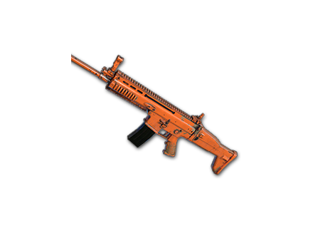 PUBG Rugged (Orange) - SCAR-L skin icon