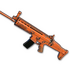 sell CS:GO skin Rugged (Orange) - SCAR-L