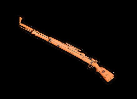 PUBG Rugged (Orange) - Kar98k skin icon