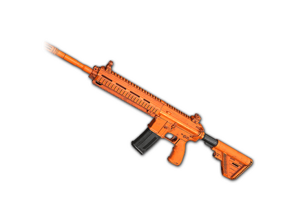 PUBG Rugged (Orange) - M416 skin icon