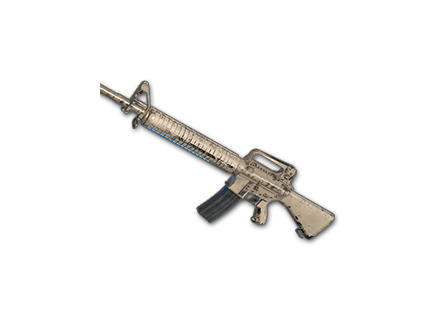 PUBG Rugged (Beige) - M16A4 skin icon