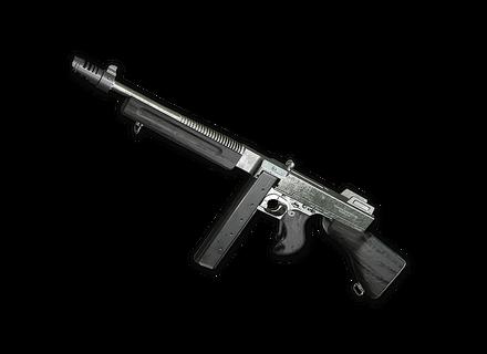 PUBG Silver Plate - Tommy Gun skin icon