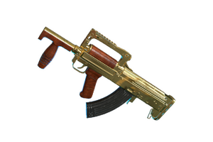 Gold Plate Groza