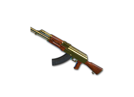 PUBG Gold Plate - AKM skin icon