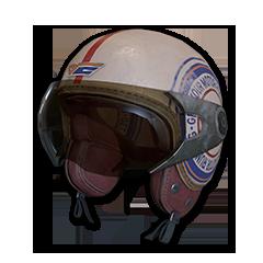 Vintage Racer Helmet