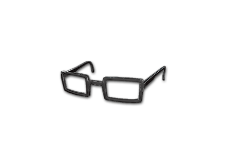 PUBG Horn-rimmed Glasses (Black) skin icon