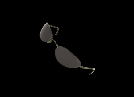 PUBG Rimless Sunglasses skin icon