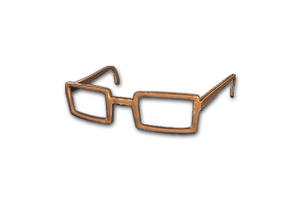 Horn Rimmed Glasses Brown