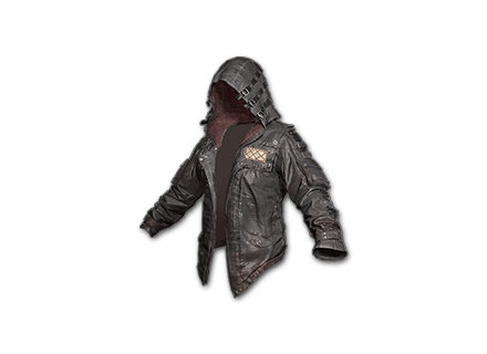 Leather Hoodie (Black) Skin Icon