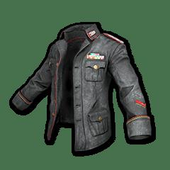 Neuestes Design Niedriger Verkaufspreis Räumungspreis genießen Militärjacke (Schwarz)