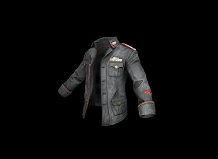 PUBG Military Jacket (Black) skin icon