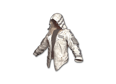 Leather Hoodie (White) Skin Icon