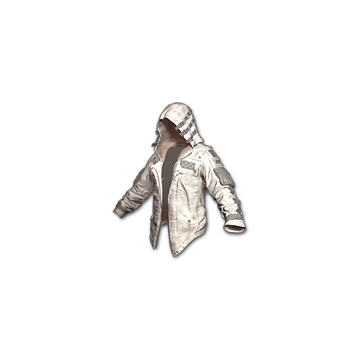 Leather Hoodie (White) - gocase.pro