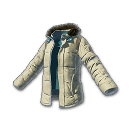 free pubg skin Padded Jacket (Beige)