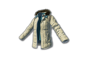 Padded Jacket Beige