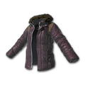 Padded Jacket (Purple)