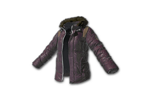 Padded Jacket Purple