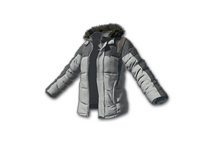 Padded Jacket Gray