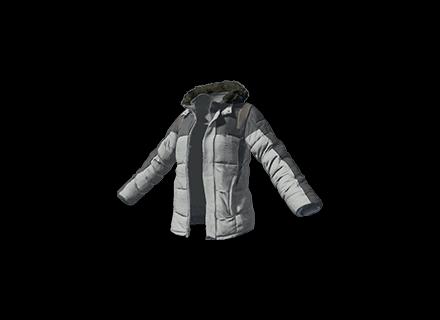 PUBG Padded Jacket (Gray) skin icon