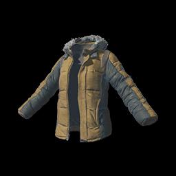 Padded Jacket (Khaki)