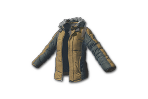 Padded Jacket Khaki
