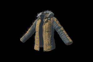Padded Jacket Khaki