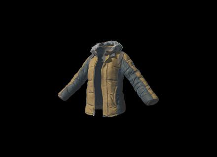 PUBG Padded Jacket (Khaki) skin icon