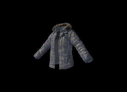 PUBG Camo Padded Jacket skin icon