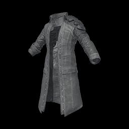 free pubg skin Coat (Gray)