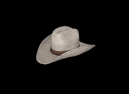 PUBG Cowboy Hat (White) skin icon