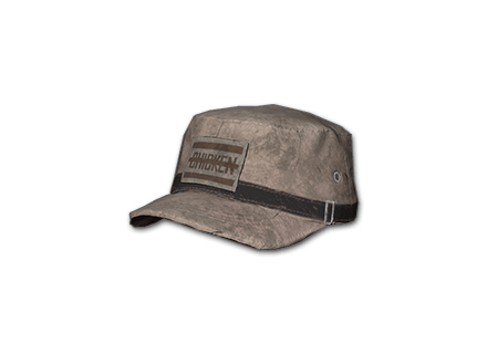 PUBG Patrol Cap (Brown) skin icon
