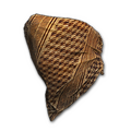 Houndstooth Cloth Mask (Tan)