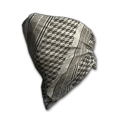 Houndstooth Cloth Mask (Bone)