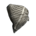 Houndstooth Cloth Mask (Bone)