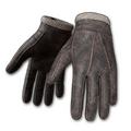 Stitched Leather Gloves (Ash)