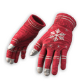 Festive Gloves (Red)