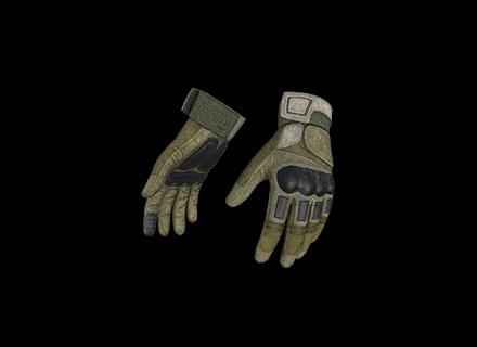 PUBG Combat Gloves (Khaki) skin icon