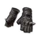 Punk Knuckle Gloves (Black)