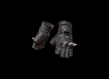 PUBG Punk Knuckle Gloves (Black) skin icon