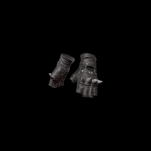 Punk Knuckle Gloves (Black) - gocase.pro