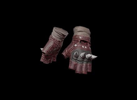 PUBG Punk Knuckle Gloves (Red) skin icon