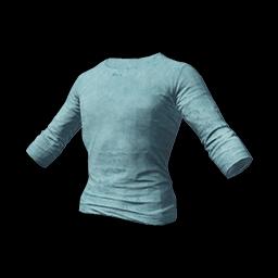 free pubg skin Long Sleeved T-shirt (Light Blue)