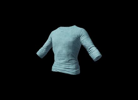 PUBG Long Sleeved T-shirt (Light Blue) skin icon
