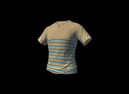PUBG T-shirt (Striped) skin icon