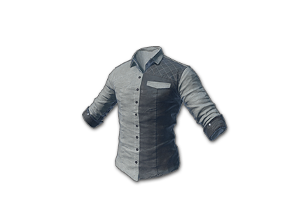 PUBG Matched Shirt (Gray) skin icon