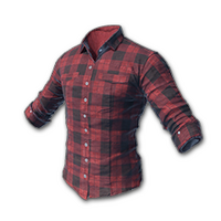 checked shirt (red)